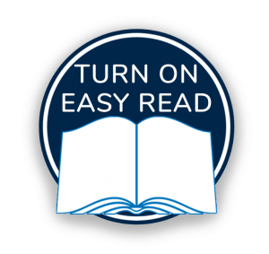 Turn on Easy Read